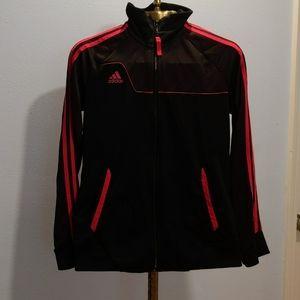 Adidas Hot Pink and Black Full Zip Jacket